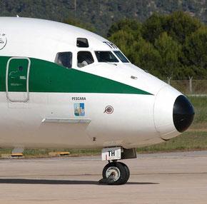 MD-82-Bugfahrwerk der Alitalia/Courtesy: Alexander Portas