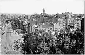 Ernst Flemming: Königlich Sächsische Kunstgewerbeschule Dresden, um 1915.