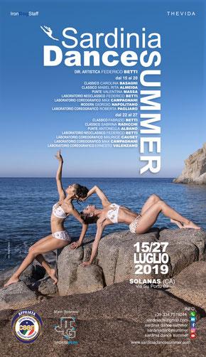 Stage Danza Sardegna 2018 (Nella foto Arianna Balestrieri)