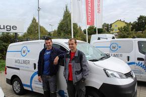 Elektro Wollmer in Pforzheim fährt Nissan