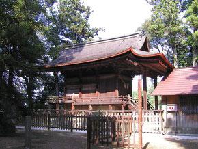 国の重要文化財 石城神社