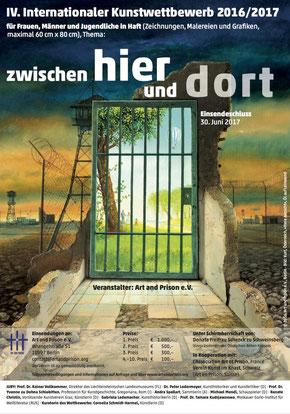 Poster Art and Prison Kunstwettbewerb 2016/ 2017