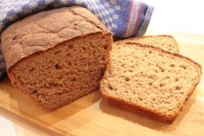 Roggenvollkornbrot Rezept Sauerteig Brot