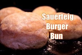 Sauerteig Burger Bun Rezept Grill Bqq