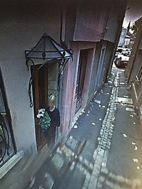 Vestige du vieux Castelnaudary. La rue Rouge est aussi étroite de nos jours qu'au XVe siècle.