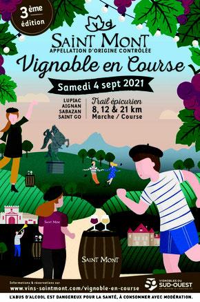 Camping gers arros - 4 Septembre 2021 - Saint Mont Vignoble en Course