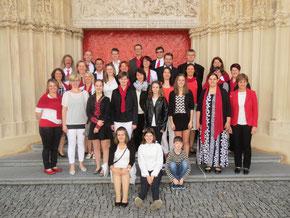 Singgemeinschaft CHORiosum unter der Leitung von Erna Mayrhofer