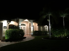 Landscape Lighting Villa Coral Laguna