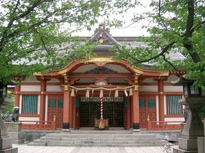 三菱発祥の地:土佐稲荷神社(Wikipediaより)
