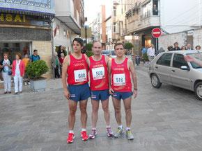 Carlos, Pedro y Jaime. PINCHA MÁS FOTOS.