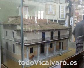 Maqueta del Ayuntamiento de Vicálvaro, expuesta en el Museo de Vicálvaro de la Asociación Vicus Albus