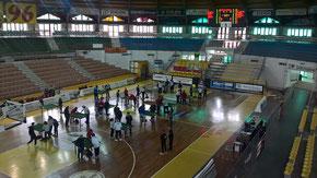 Il Palalberti, sede del torneo