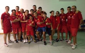 Il Messina Table Soccer presente a Nicolosi