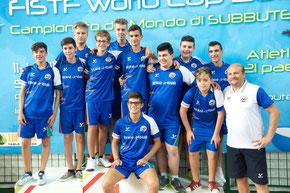 Cesare Natoli CT Under 15 al Mondiale 2015