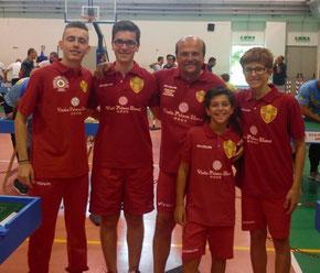 Il Messina Table Soccer presente a Napoli
