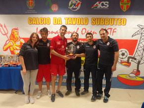 Il Catania vincitore del torneo
