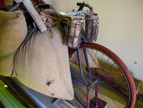 das Fahrrad - ein wichtiges Transport-Vehikel