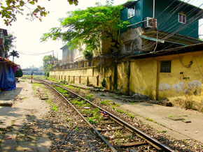 ein stillgelegtes Gleis