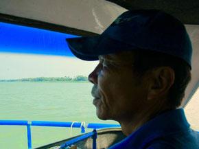 die Bootasfahrt zurück nach Hoi An dauerte fast 3 Stunden