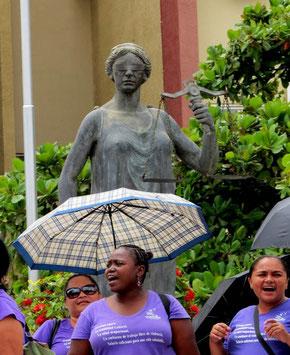 CODEMUH, Frauen, Unterschriftensammlung, Tegucigalpa