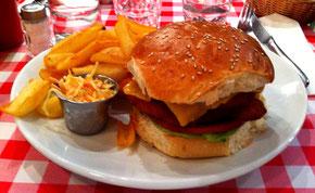 Chicken Burger du Schwartz's Deli