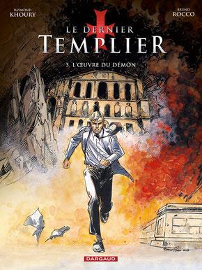 LE DERNIER TEMPLIER – L'ŒUVRE DU DÉMON. © DARGAUD