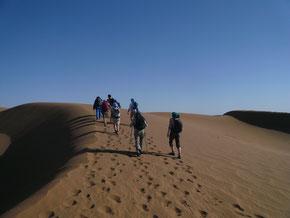 Trek dans le désert avec Mélodie du désert