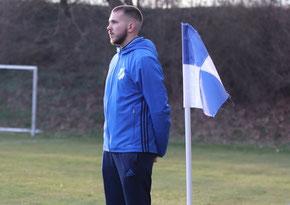 Großenenglis Trainer Alessandro Wiegand