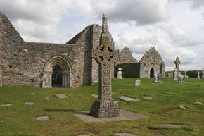 Hochkreuz in Clonmacnoise