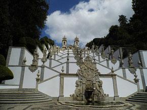 Treppen zur Bom Jesus do Monte Wallfahrtskirche