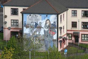 Wandgemälde in Derry