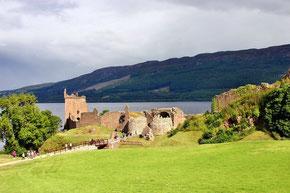 Urquhart Castle Ruine am Loch Ness