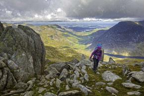 Wandern im Brecon Beacons Nationalpark © Crown copyright (2019) Cymru Wales