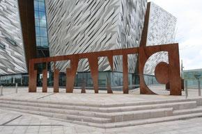 Titanic Museum Belfast von außen