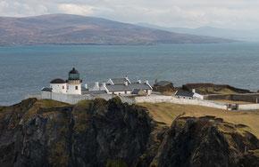 Clare Island Lighthouse - auf den Klippen