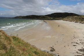 Der schönste Strand Schottlands: Silver Sands of Morar