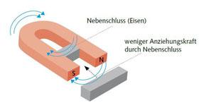 Hufeisenmagnet - Nebenschluss - (C) Wolfgang David