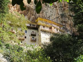 Blick zurück zum Kloster