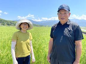 令和3年度からは小川さんの減農薬米(キンド酵素)を販売