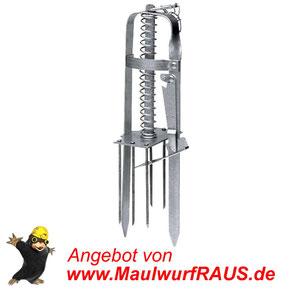 Die Spezial-Falle VICTOR von MaulwurfRAUS.de