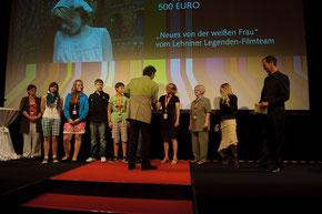 Preisverleihung in Ludwigsburg (Foto: KJF)