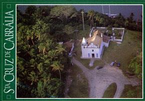 The church in Sta. Cruz Cabrália