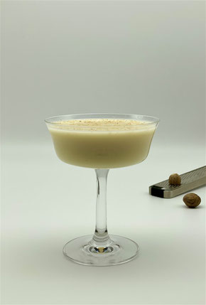 Carino, Cocktail Carino, Carino Cocktail, Cocktail mit Yoghurt, Cocktail mit Muskat, Cocktail mit Muskatnuss