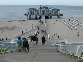 Seebrücke of Sellin on Rügen