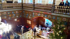 17.12.2017 (11-17 Uhr) Weihnachtlicher Kunstmarkt im Wappensaal Schloss Lübben