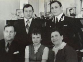 Семья Чебыкиных