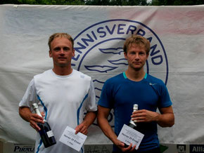 Sieger Jakunin und Finalist Gröger