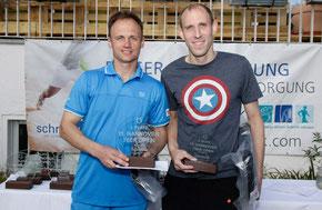 Sieger Jakunin und Finalist Bock