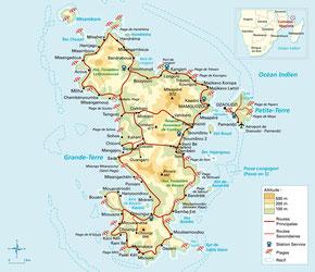 Carte de Mayotte Dom-Tom, Cartograf