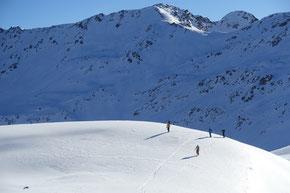 Aufstieg zum Mont de Flassin 2772m